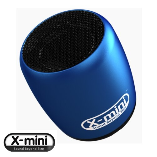 X-mini CLICK【藍】 迷你隨身藍牙喇叭 藍芽遙控喇叭 可支援自拍功能