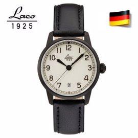 德國原裝進口 Laco 朗坤 861804 德國 夜光防水皮帶自動機械海洋軍錶 機械錶