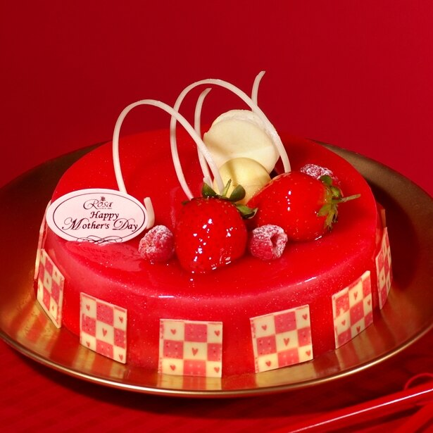 【羅撒蛋糕】母親節蛋糕~「俏佳人」|草莓覆盆子慕斯蛋糕|6吋~8吋|5月6日~5/14日出貨