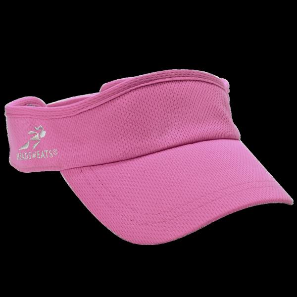 騎跑泳者-HEADSWEATS汗淂(全球運動帽領導品牌)VelocityVisor中空遮陽帽亮粉紅
