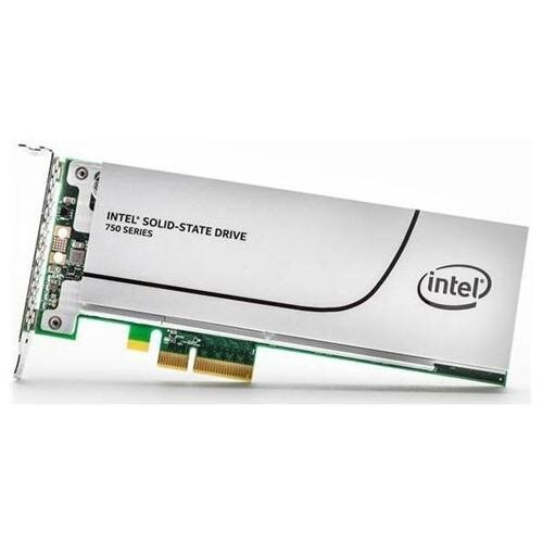 Intel SSD 750 Series 800GB AIC 800G PCIe Gen3 x4 PCI-Express 3.0 x4 MLC HHHL (CEM2.0) Internal Solid State Drive SSDPEDMW800G4X1