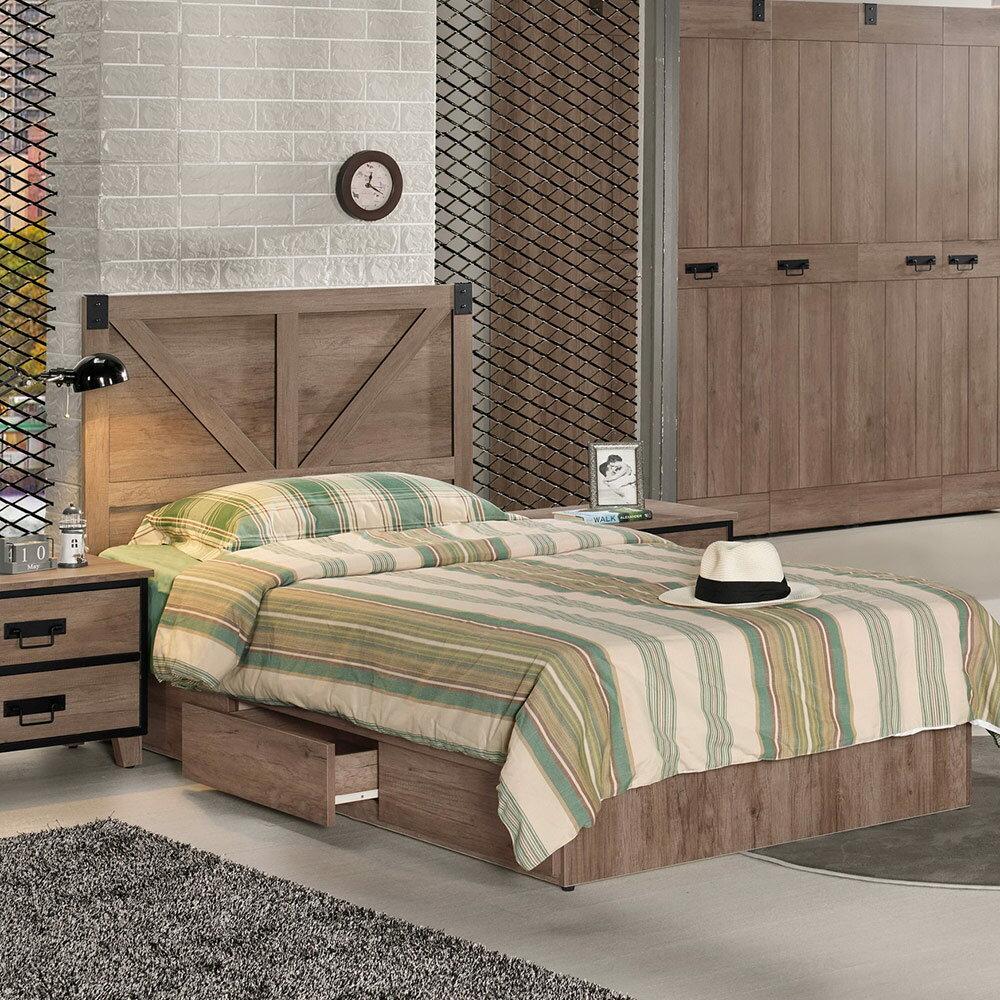 哈珀3.5尺單人床/H&D東稻家居-消費滿3千送點數10%
