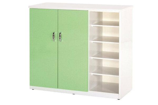 【石川家居】860-06(綠白色)鞋櫃(CT-317)#訂製預購款式#環保塑鋼P無毒防霉易清潔