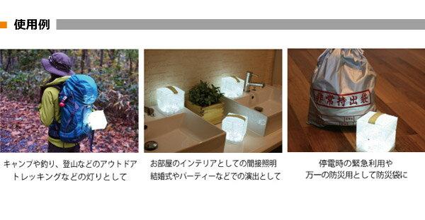 日本Landport / Solarpuff折疊式太陽能LED燈 / IDPUFF。共1色-日本必買 日本樂天代購(3672*02)。件件免運 4