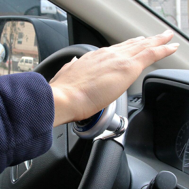 汽車方向盤助力器 助力球 多功能高檔創意軸承式防滑轉向助力器改裝
