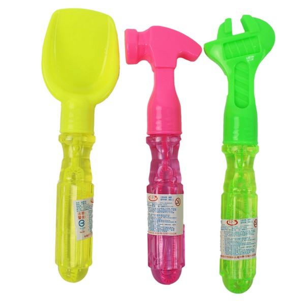 工具造型泡泡水NO.1058長約18cm(混款)一件24盒入(一盒24支)共576支入{促15}清鬆吹泡泡~CF133873