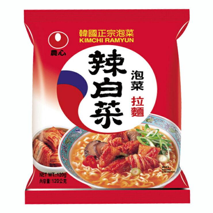 農心 韓國泡菜味拉麵-120g
