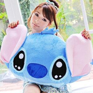 美麗大街【102081922】18吋迪士尼史迪奇大頭造型抱枕