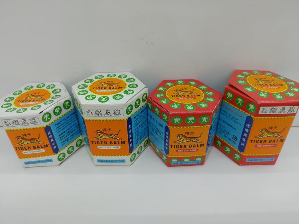 【憨吉-附發票】虎標萬金油軟膏 紅/白 19g/30g (乙類成藥。藥局合法販售)