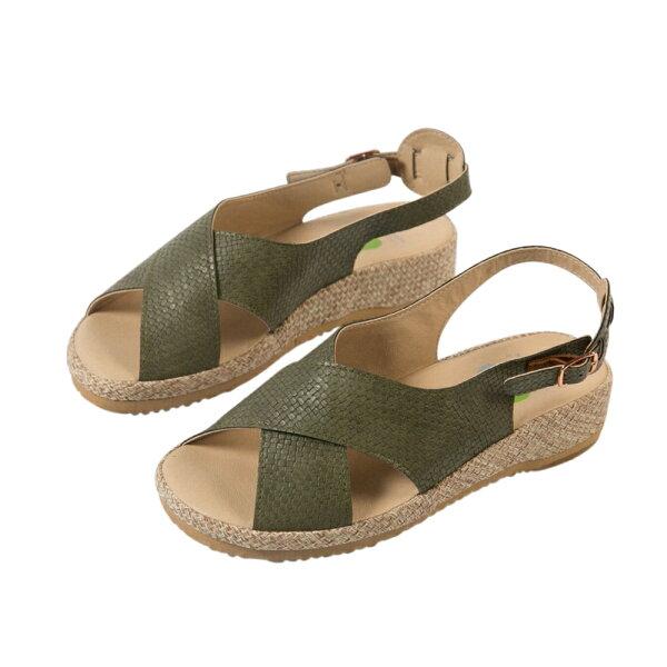 洋森生活-MIT交叉百搭機能涼鞋-5色#YS803