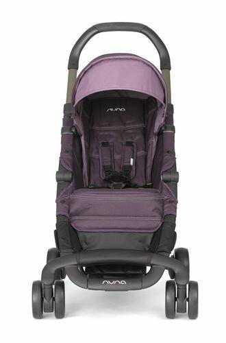 ★衛立兒生活館★Nuna 荷蘭 Pepp Luxx 二代時尚手推車(紫色)贈手提袋+可愛玩偶(隨機出貨)