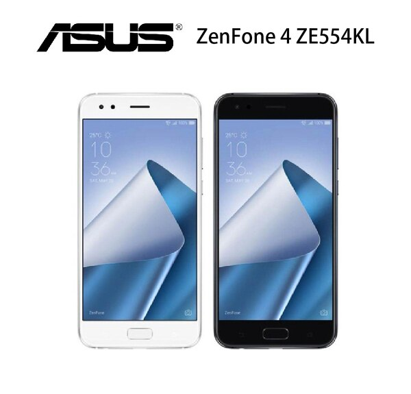華碩ASUSZenFone4ZE554KL6G64G5.5吋4G+3G雙卡雙待-白黑