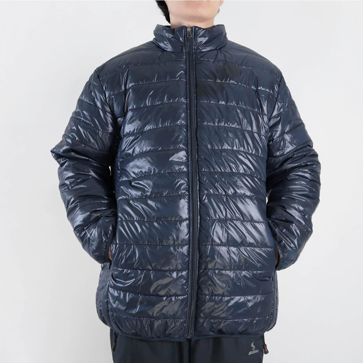 加大尺碼超輕量立領舖棉保暖外套 大尺碼夾克外套 大尺碼騎士外套 大尺碼防寒外套 大尺碼擋風外套 大尺碼休閒外套 鋪棉外套 藍色外套 黑色外套 (321-A831-08)深藍色、(321-A831-21)黑色、、(321-A831-22)灰色、(321-A830-22)灰綠色 5L 6L 7L 8L (胸圍:56~62英吋) [實體店面保障] sun-e 4