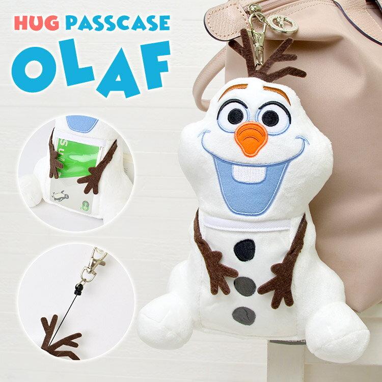 日本迪士尼 Disney Frozen 冰雪奇緣 雪寶 伸縮車票夾 證件夾 。-日本必買 日本樂天代購(2080) 0