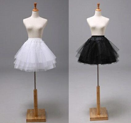 天使嫁衣~PL106~2色短款三層硬紗澎裙芭蕾女僕COS裙稱˙