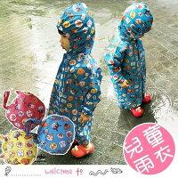 卡通面包超人拉鏈式兒童雨衣 附收納袋-mombaby-媽咪親子推薦