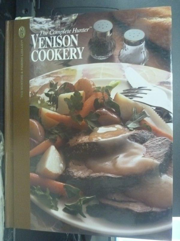 【書寶二手書T7/餐飲_QJL】Venison Cookery_Editors of Creative