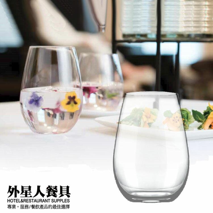 玻璃杯-切口薄底酒杯266cc/6入 水杯 果汁杯-外星人餐具