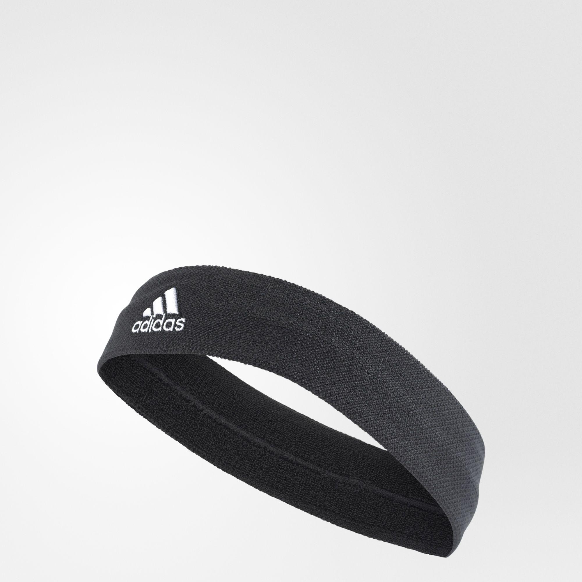 ADIDAS TEN HEADBAND 頭帶 網球 黑 白【運動世界】S97910