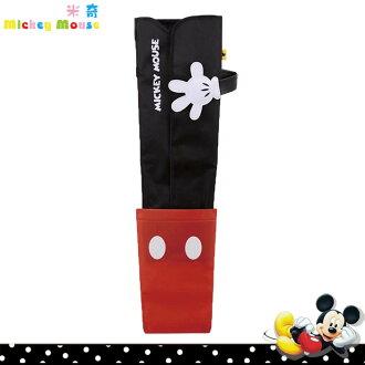 大田倉 日本進口正版迪士尼系列 米奇黑紅配色雨傘收納套 吊掛雨傘收納袋 442855