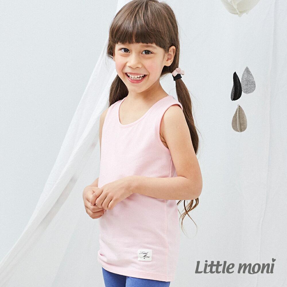 Little moni 百搭素色背心-粉紅(好窩生活節) 0