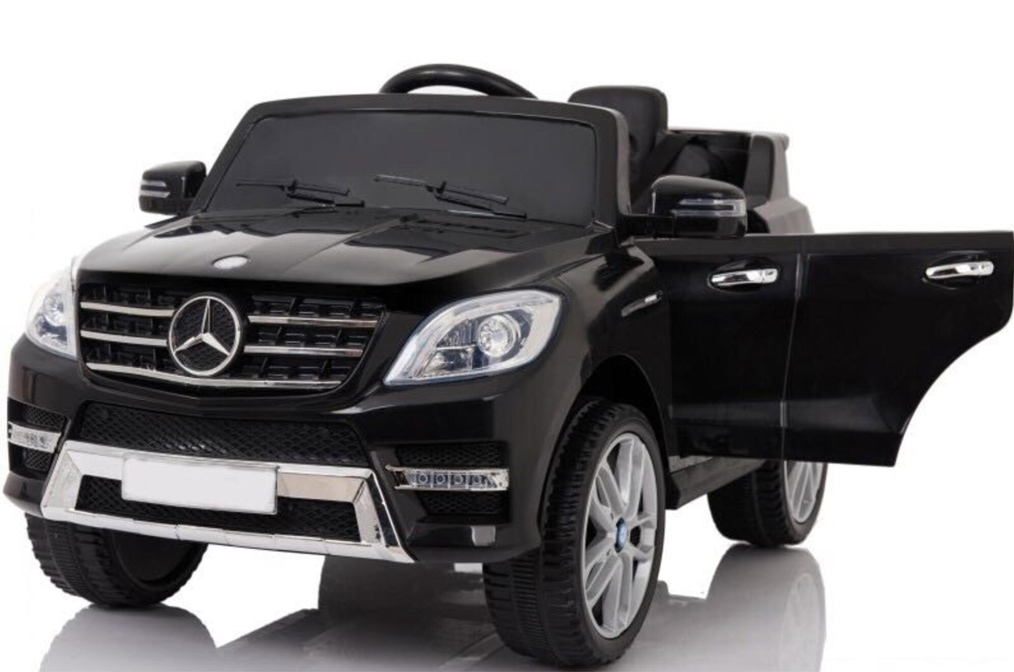Ride On Car Mercedes Ml350 6v For Kids Electric Battery Mp3 Remote Control Black 0