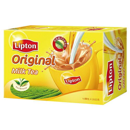 立頓奶茶粉原味盒裝10入*20g【愛買】
