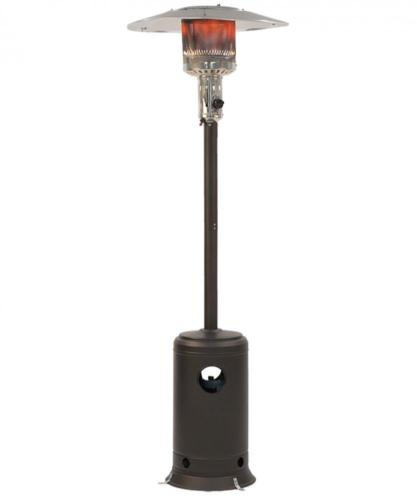 Outdoor Patio Heater - Propane Standing LP Gas - Mocha Finish 0