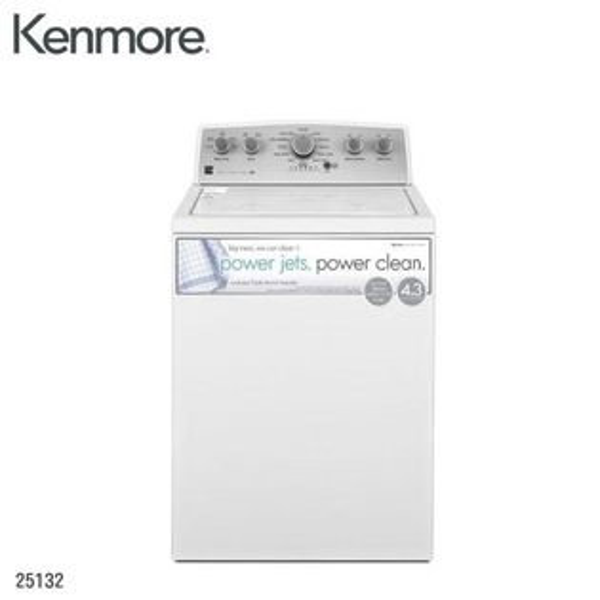 【得意家電】美國Kenmore25132直立式洗衣機(10KG)※熱線07-7428010