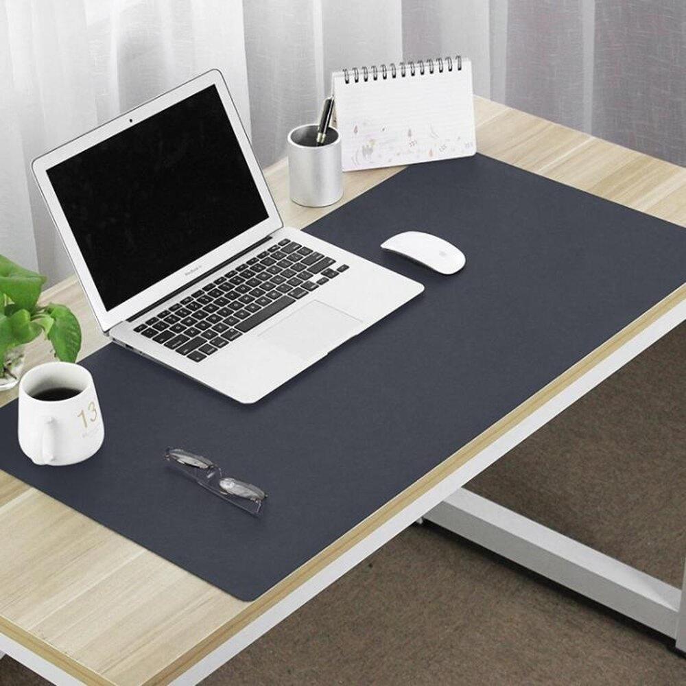 辦公桌墊  大號鼠標墊防水寫字墊超大皮革鼠標墊辦公電腦墊可定制林之舍家居