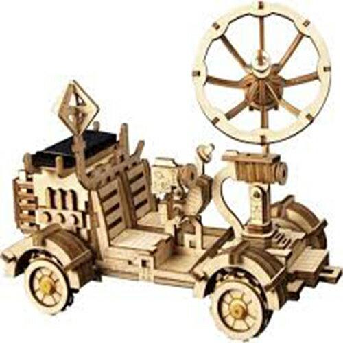 《Robotime》木製 拼圖 LS401 太陽能車 Moon Buggy 東喬精品百貨
