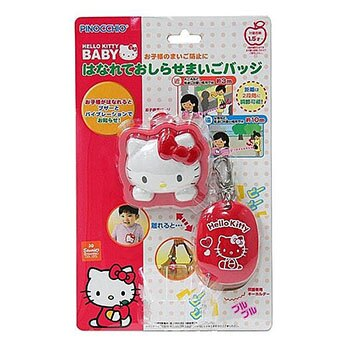 Hello Kitty 凱蒂貓 安全 防走失 警報器 紅色 不附電池 日本進口正版 306974