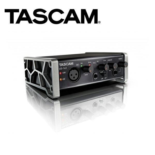 ◎相機專家◎TASCAM達斯冠US-1x2USB錄音介面1x2WindowsMacOXX數位公司貨