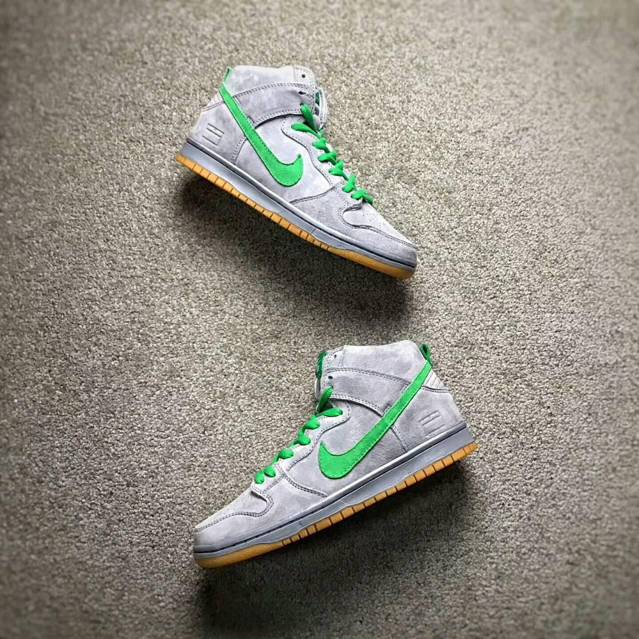 Nike SB Zoom Dunk Low Pro 高筒 灰綠 男款