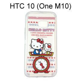 Hello Kitty 透明軟殼 [磅秤] HTC 10 (One M10)【三麗鷗正版授權】