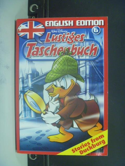 ~書寶 書T9/漫畫書_OGO~Walt Disney ~ Lustiges Tasche