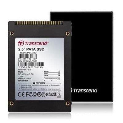 【新風尚潮流】創見 固態硬碟 SSD 64G 2.5吋IDE介面 TS64GPSD330