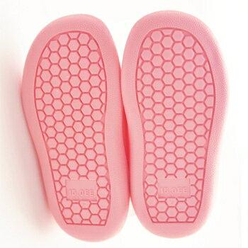 【本月贈鞋墊】日本【Stample】兒童雨鞋(馬卡龍粉) 1
