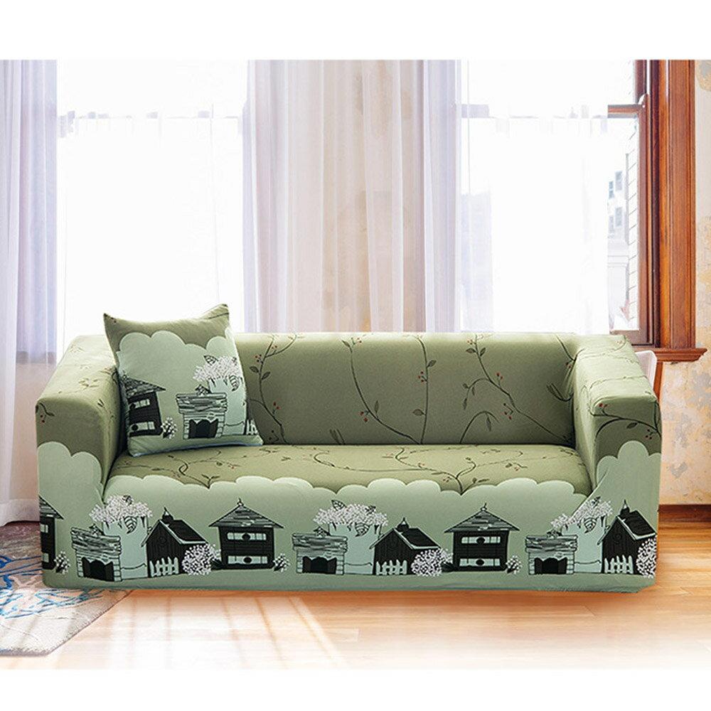 田園休閒彈性優質沙發套 沙發罩 沙發 推薦-1+2+3人座