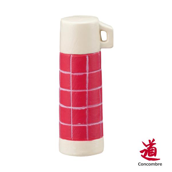 Decole 公仔小物 / 佈置道具 - 紅格子水壺 Concombre ( ZSV-87926 ) 現貨
