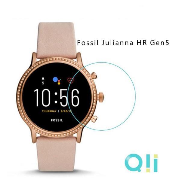【愛瘋潮】Qii Fossil Julianna HR Gen5 玻璃貼 (兩片裝) 手錶保護貼