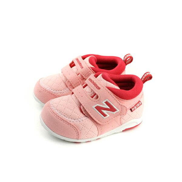 NewBalance休閒運動鞋魔鬼氈粉紅色小童童鞋FS123PRI-Wno469