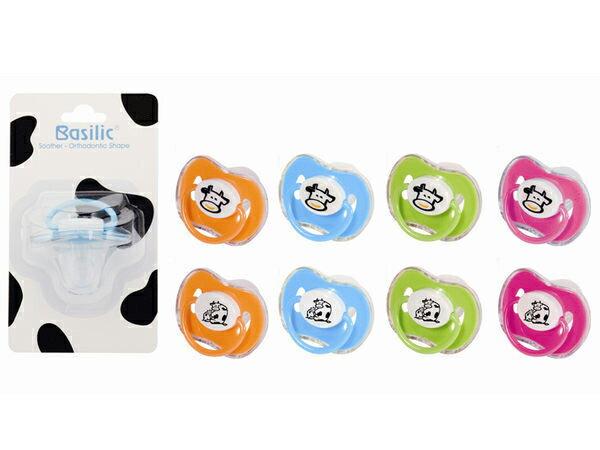 德芳保健藥妝:貝喜力克拇指型安撫奶嘴MD040(乳牛)(顏色隨機出貨)【德芳保健藥妝】