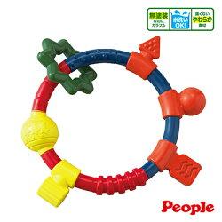 【悅兒樂婦幼用品舘】Weicker 唯可 People 新環狀手搖鈴咬舔玩具