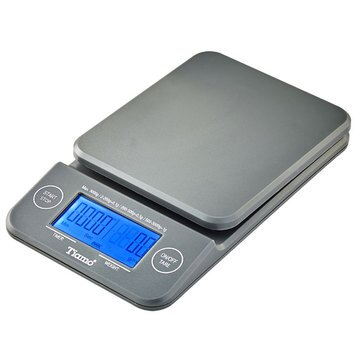 金時代書香咖啡 TIAMO KS-900專業計時電子秤 2kg 藍光 HK0513GY-1
