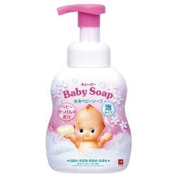 日本 牛乳石鹼 嬰兒全身泡泡沐浴乳(嬰兒皂香)不流淚配方 400ml