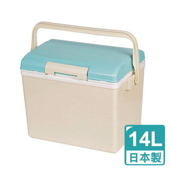 日本Pearl鹿牌CielCiel日式冰桶保冰保冷14L(天空藍)