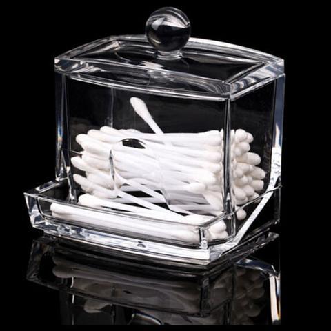 Felji Acrylic Cotton Swab Holder 2130 2ff04dedd46dacfc0a7e9a3942612059