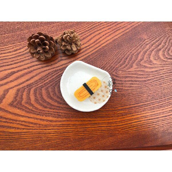 小糖瓷⎥日本製 日式半月小味碟 / 漬物小碟(兩色) 5