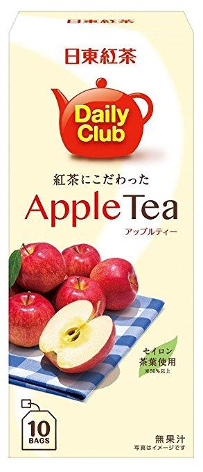 【年貨大街】【日東紅茶】Daily Club 蘋果水果紅茶10入(22g)